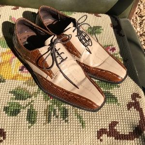 Stacy Adams Leather Shoes 8.5M